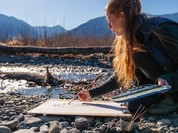 Environmental Art: A Beautiful Chance to Connect with the Earth